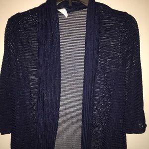 Sweaters - Navy blue cardigan